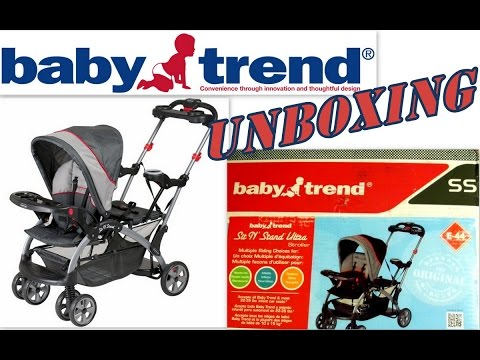 Baby Trend -- Sit N' Stand Ultra (Tandem Stroller) Unboxing & Review