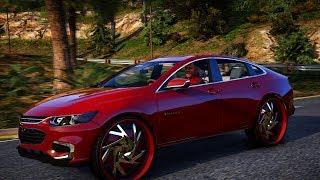 2018 Chevrolet Malibu on Starr Wheel's - Grand Theft Auto V Mod - 4K PC