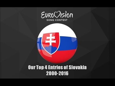 Eurovision 2000-2016: Our Top 4 of Slovakia