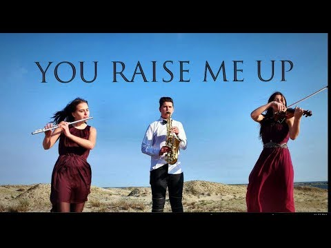 You raise me up violinflutesaxophone   ANATrio