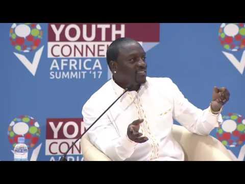 Akon : We need to rebrand Africa and Black People , RWANDA 2017