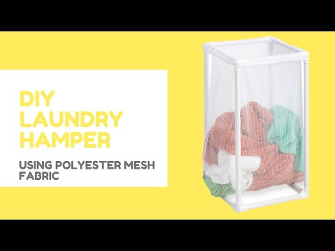 DIY Laundry Hamper - Free Tutorials by CanvasETC 404.514.7166