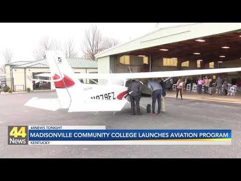 Madisonville Community College Aviation Program Officially Takes Flight