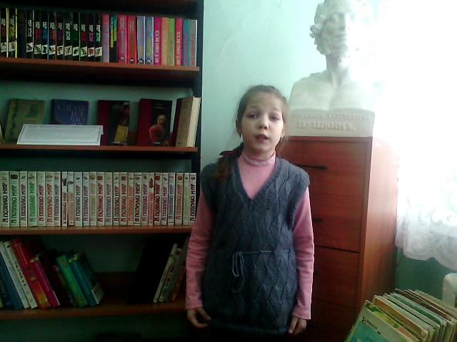 Изображение предпросмотра прочтения – ЕвгенияВиноградова читает произведение «Бородино» М.Ю.Лермонтова