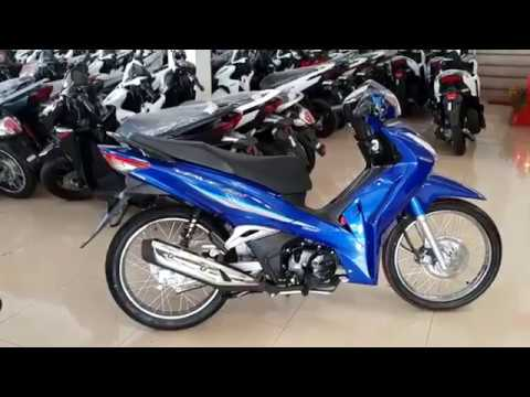 honda wave 125i blue youtube. Black Bedroom Furniture Sets. Home Design Ideas