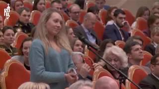 Патриарх Кирилл ответил на вопросы студентов медицинских и фармацевтических вузов России