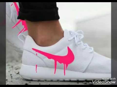 6c61dbbc127c7c Les 5 chaussure nike trop belle pour moi 😁😁 - YouTube