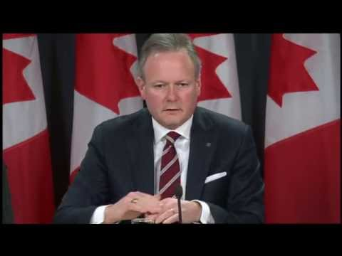 RAW: Bank Of Canada Explains Cut To Overnight Lending Rate