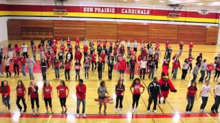"Cardinal Heights Flash Mob - ""Move Your Body"" - Beyonce"