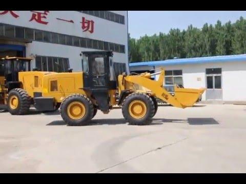 China 3 ton wheel loader form  Shandong Tuishan Heavy Industry