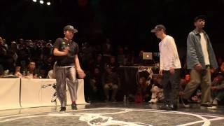 ur.funk vs SO & CGEO【JUSTE DEBOUT JAPAN 2017】POPPING BEST8
