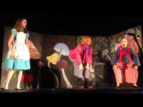 Alice in Wonderland Tweedledee and Tweedledum