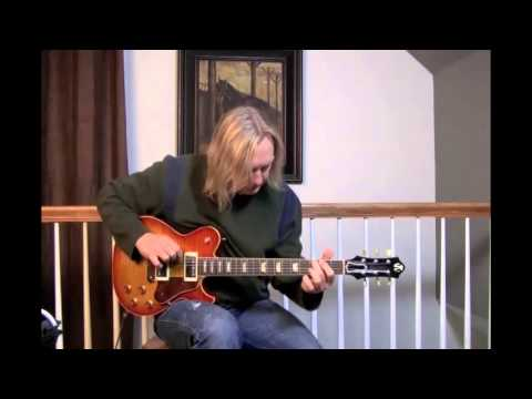 Gustavsson Bluesmaster Custom 59 MahoganyMaple at Dream Guitars