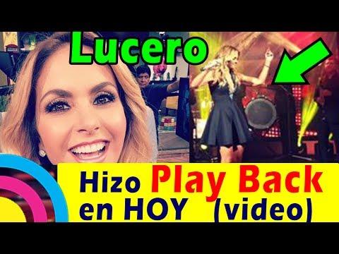 Lucero hace PLAY BACK en el programa HOY (AQUÍ te dejamos el video)