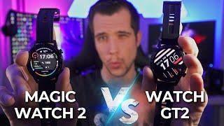 HUAWEI Watch GT2 vs Honor MAGIC WATCH 2 REVIEW - BEST SMARTWATCH 2020?