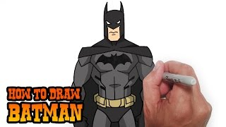 How to Draw Batman- Young Justice- Video Lesson(Learn how to draw Batman from Young Justice in this easy step by step video tutorial. All my lessons are narrated and drawn in real time. I carefully talk through ..., 2015-04-20T06:30:05.000Z)