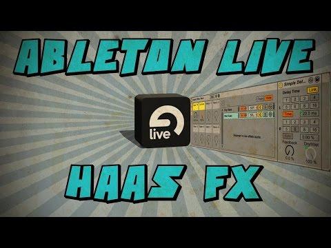 Ableton Live: Hass FX ou Precedence