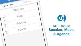Convene Speakers, Maps, and Agendas
