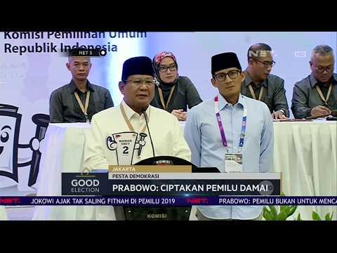 Harapan Jokowi dan Prabowo Untuk Pilpres 2019 - NET 5 Mp3
