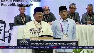 Harapan Jokowi dan Prabowo Untuk Pilpres 2019 - NET 5