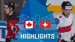 Canada - Switzerland | Highlights | #IIHFWorlds 2017