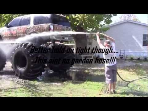 5a Or Bust How To Wash A Monster Truck