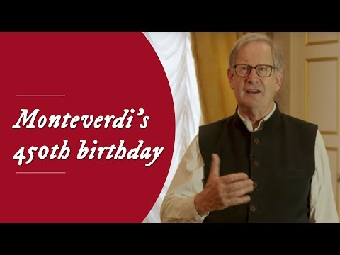 Sir John Eliot Gardiner about Monteverdi's 450th birthday