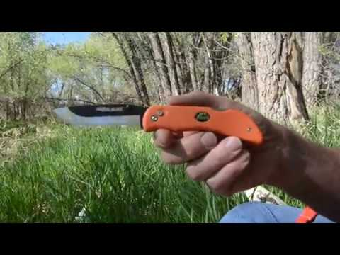 One of a Kind Razor Blaze Knife Set by Brad Buckner
