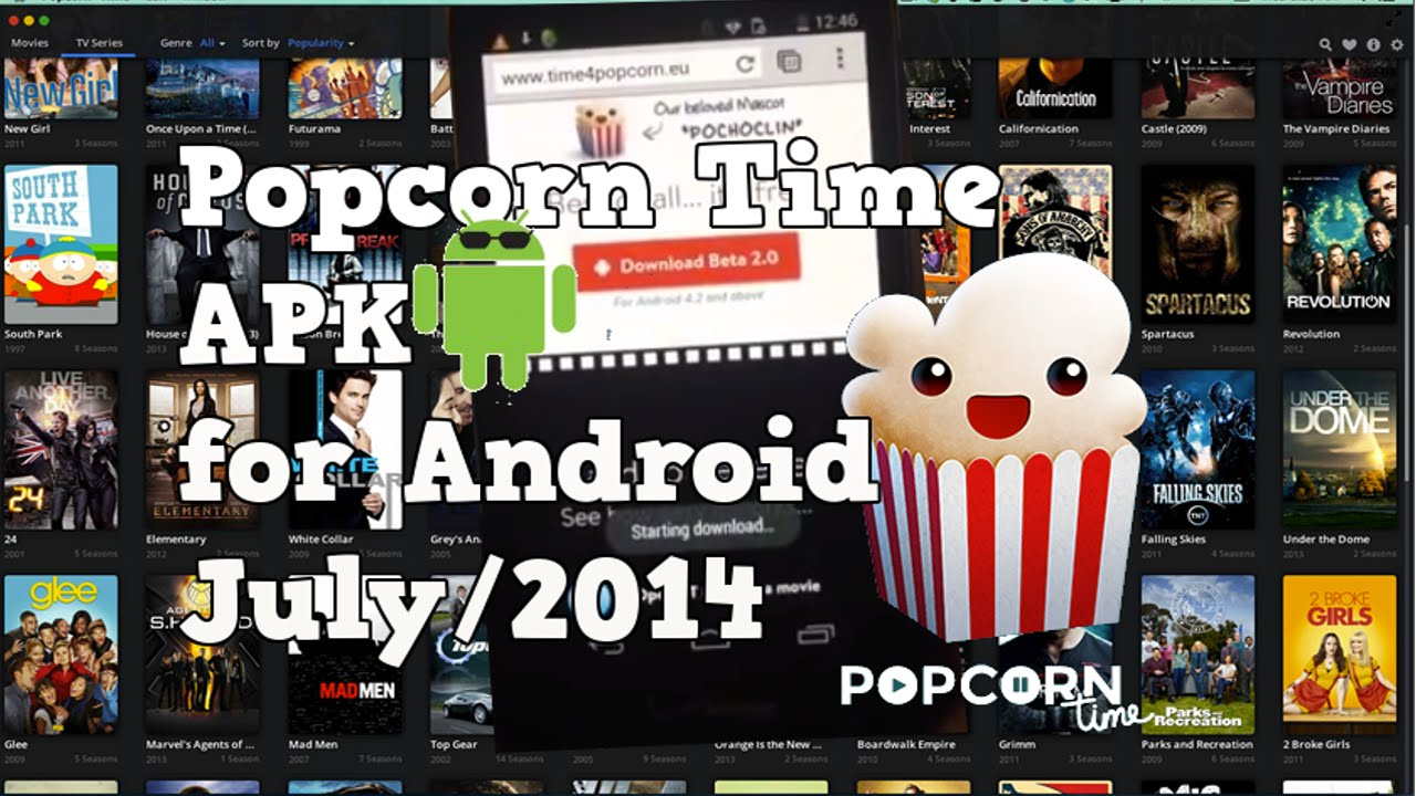 Image result for popcorn time APK