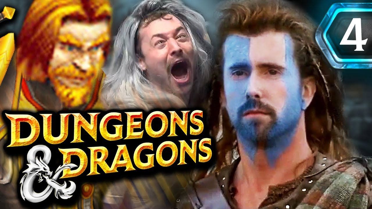 A Poop DEMON!? Asmongold's D&D Campaign Turns to Crap.. LITERALLY | ft. Mcconnell & Rich (Episode 4)