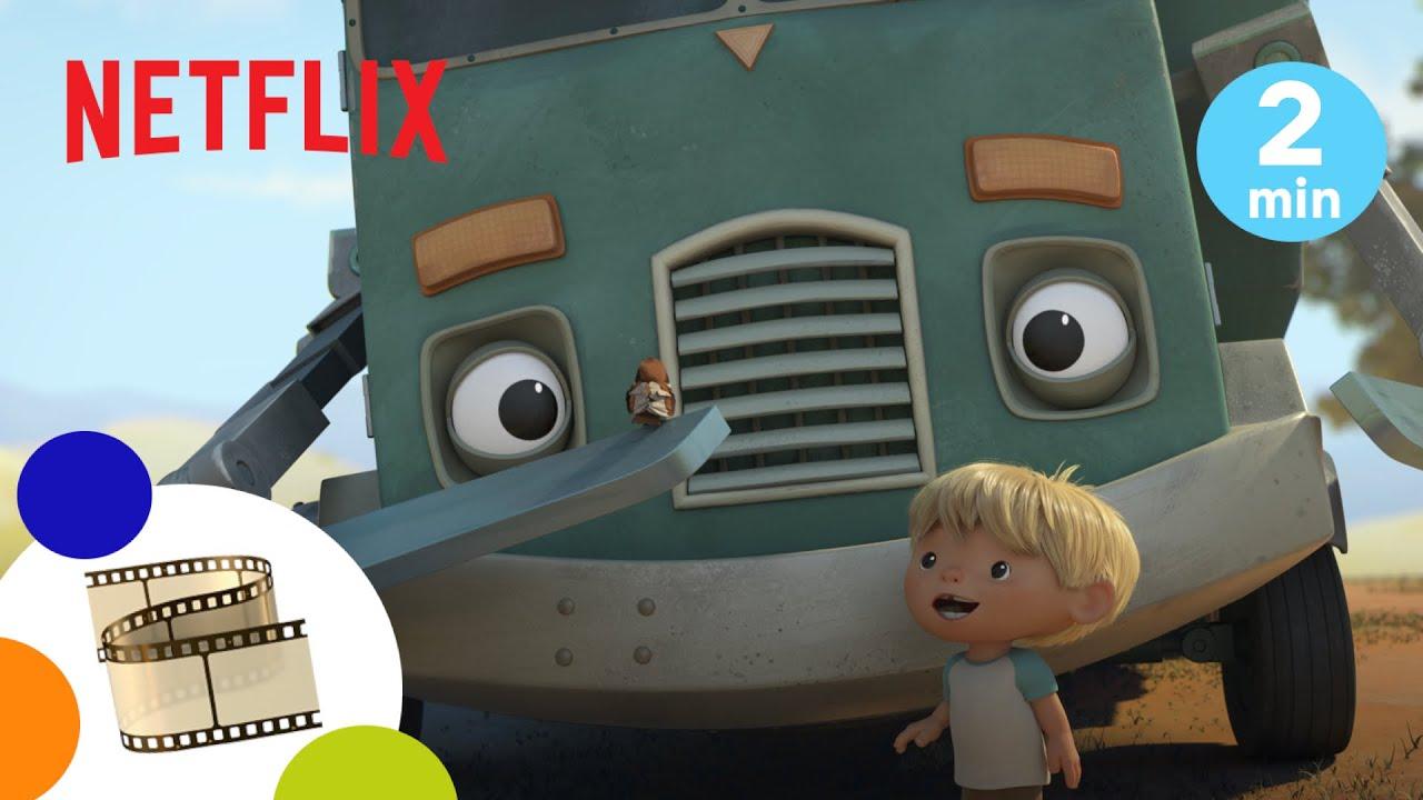 Hank e il Camion Dei Rifiuti | Impariamo a volare | Netflix Jr