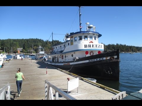 Inside Look at an  Old Boat on Salt Spring Island