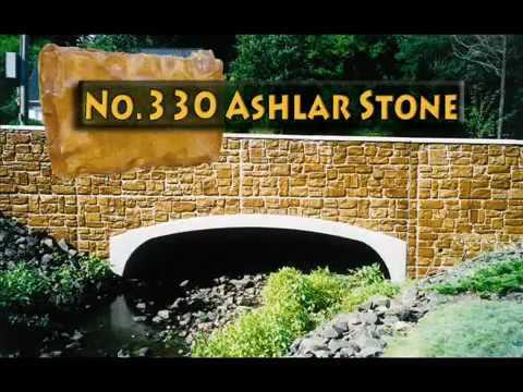 Greenstreak Architectural Concrete Form Liner Slideshow wmv - YouTube