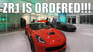 🔴 My 2019 Corvette ZR1 is Ordered!! | Fewer than first thought.