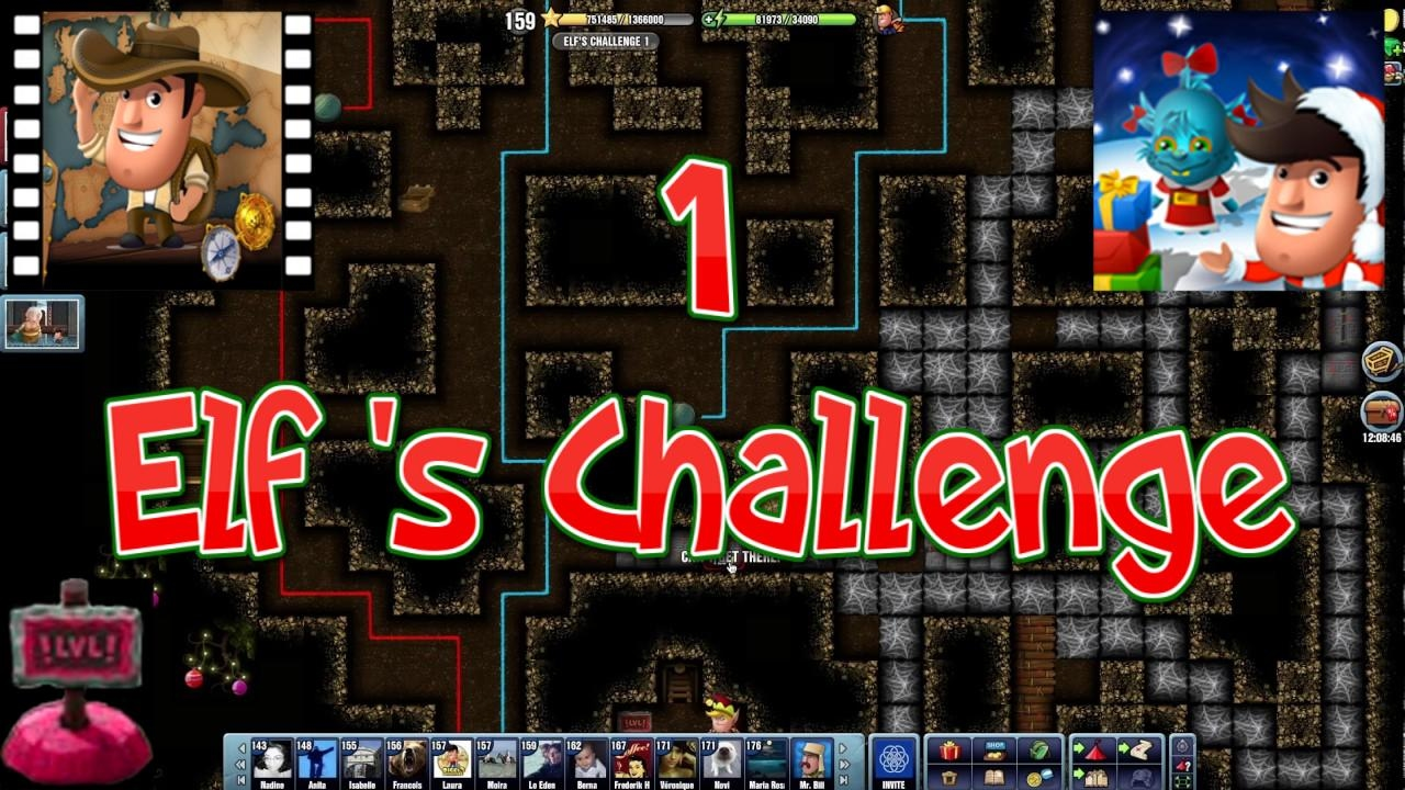 Christmas 2016~] # Elf\'s Challenge 1 - Diggy\'s Adventure - YouTube