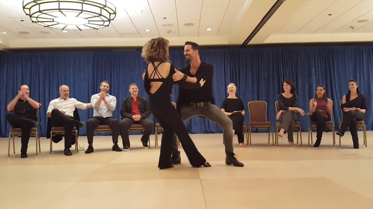 West Coast Swing Jack and jill Gary McIntyre and Lara Deni