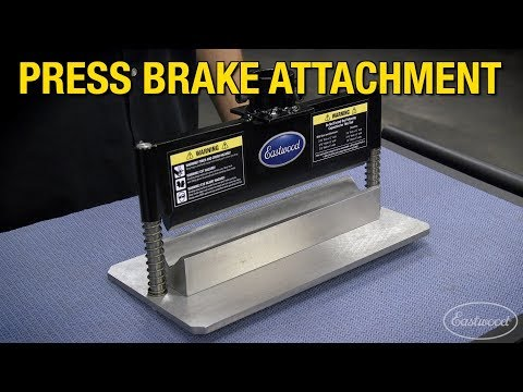 How To Fabricate Engine & Transmission Mounts, Brackets & More - Press Brake Attachment - Eastwood