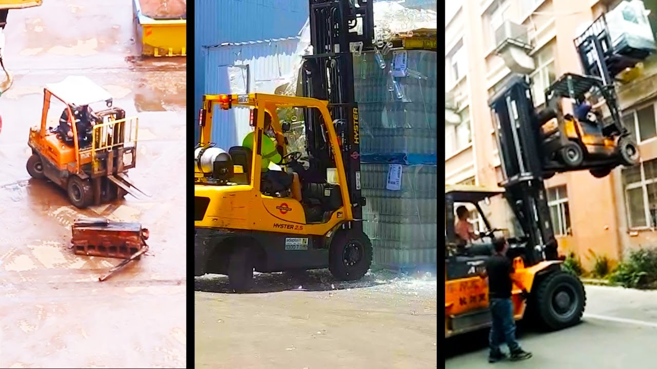 Ozzy Man Reviews: Forklift Fails