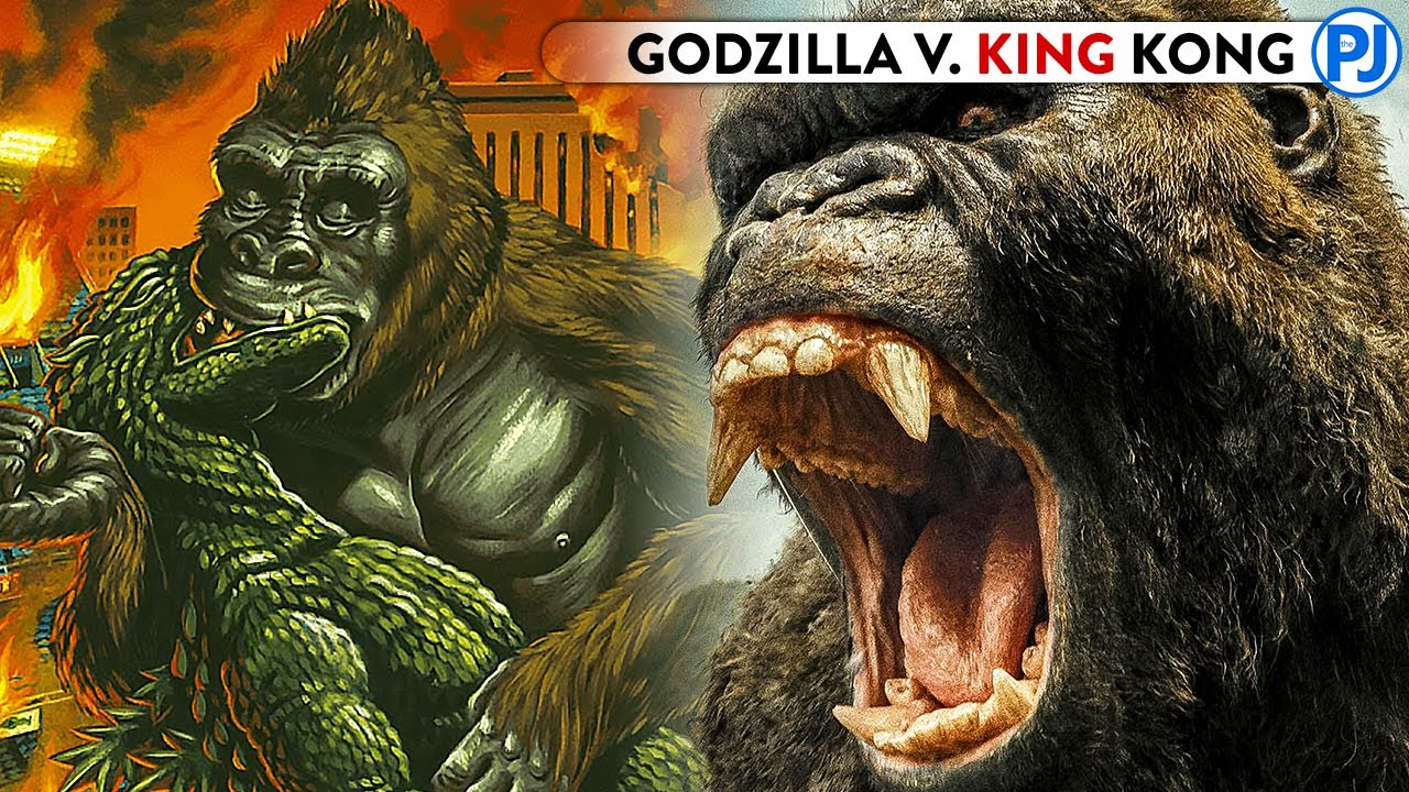 Why Godzilla's First Fight With King Kong Is So Controversial! GodZilla VS Kong - PJ Explained