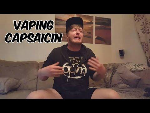 VAPING CAPSAICIN