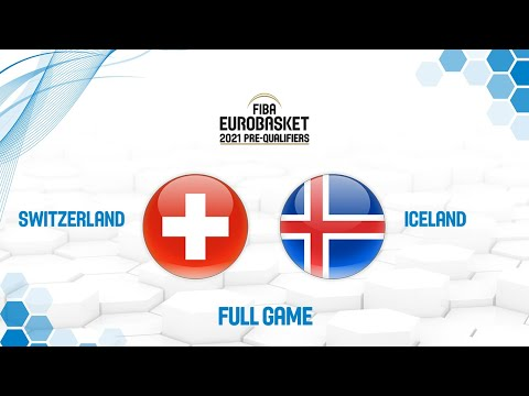 Switzerland v Iceland - Full Game - FIBA EuroBasket 2021 Pre
