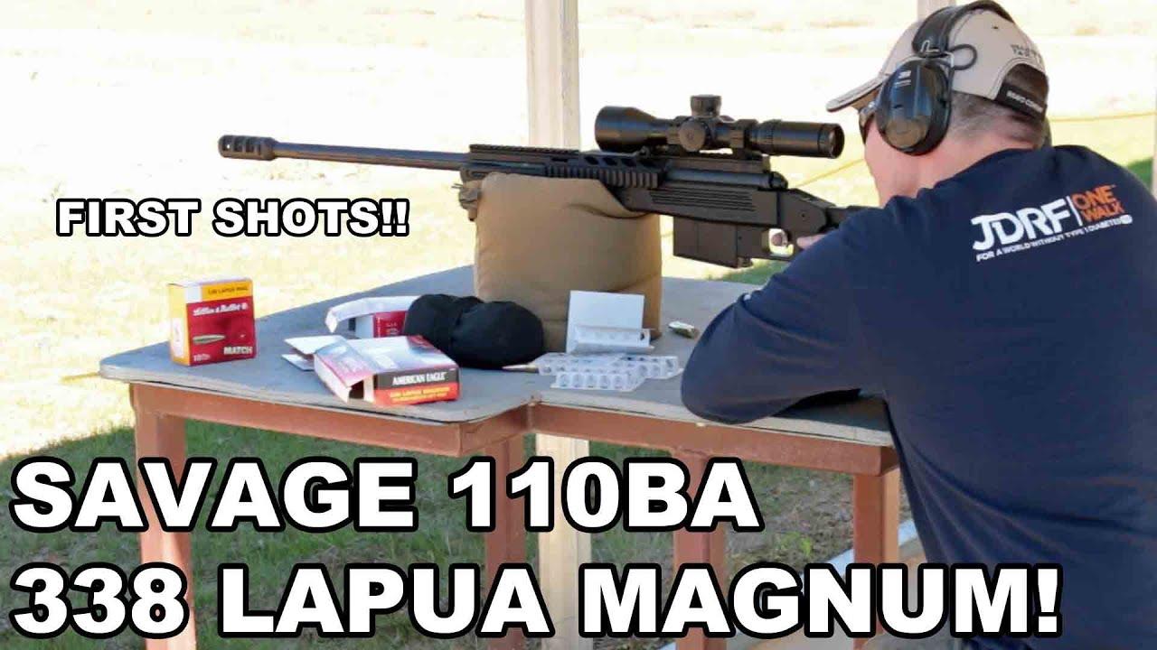 Savage Arms 110 BA Long Range Bolt Action Rifle ~ Video