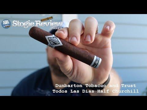 Dunbarton Tobacco and Trust Todos Las Dias Half Churchill