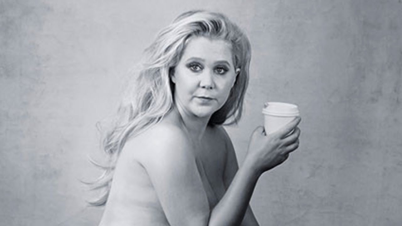 Puperty ) nude Amy Schumer Poses Nearly NUDE For Pirelli Calendar & Explains Bruises