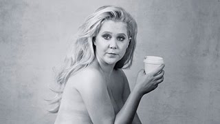 Amy Schumer Poses Nearly NUDE For Pirelli Calendar & Explains Bruises
