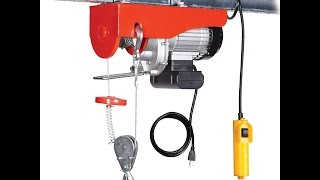 HF 62854 120 volt winch in use-how installed