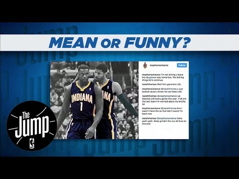 The Jump Reacts To Isaiah Thomas' And Lance Stephenson's Instagram Exchange | The Jump | ESPN