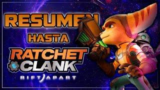 Resumen de la Historia de Ratchet & Clank hasta Una Dimensión Aparte (Rift Apart) de PS5