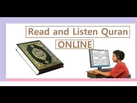 Read and listen Quran ONLINE