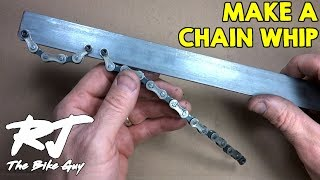 How To Make A Chain Whip/Sprocket Remover Tool